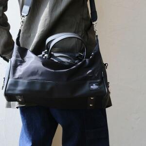 ボストンバッグ バッグ 鞄 かばん ショルダーストラップ 取り外し可能 高さ調節 ジム 部活 修学旅行 PVCナイロン 1泊旅行 レディース メンズ 春 春物