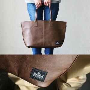 トートバッグ バッグ かばん 鞄 バック 肩掛け 手提げ フェイクレザー PUレザー 合成皮革 通学用 ビジネス 通勤 レディース メンズ
