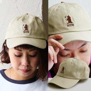 ベースボールキャップ キャップ 帽子 野球帽 クラシック クマ 刺繍 レディース メンズ ユニセックス 日よけ 紫外線対策 春 夏