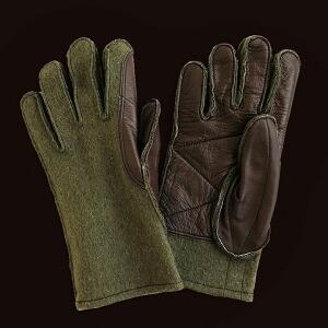 グローブ レザー ウール フランス軍 デッドストック ウールレザー ミリタリー 60年代 本革 革 レディース メンズ 秋 冬 手袋 てぶくろ フランス製