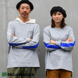 長袖 Tシャツ ロンT ビッグシルエット ビッグT 「袖 ネオンカラー ライン」 綿100% クルーネック メンズ レディース トップス カジュアル ルーズ 大きいサイズ 大きめ 40代 50代