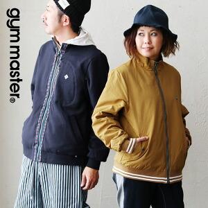 スタンドジャケット ジャケット スウェット × ナイロン リバーシブル ブルゾン レディース メンズ 40代 50代 春 春物 アウター