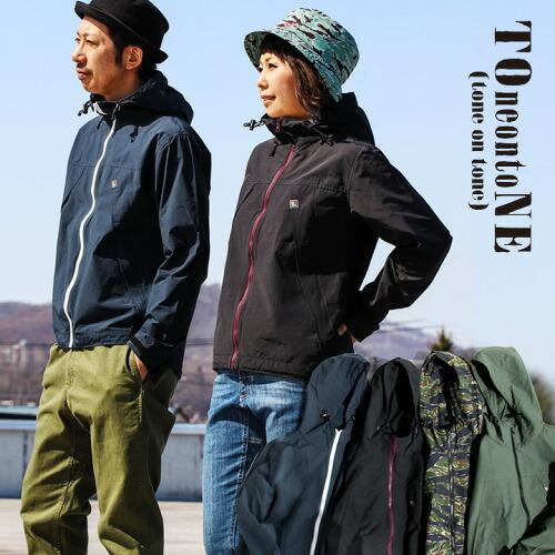 (トーン) TOneontoNE マウンテンパーカー   マウンテンジャケット コート アウトドアウェア 登山服 マンパー