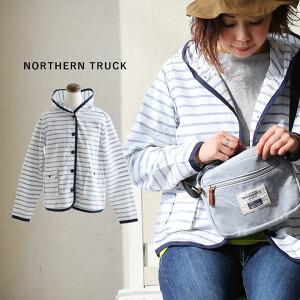 シャツパーカー パーカー シャツ ボーダー コットンリップ 配色パイピング ポケット使い レディース 女性用 40代 50代
