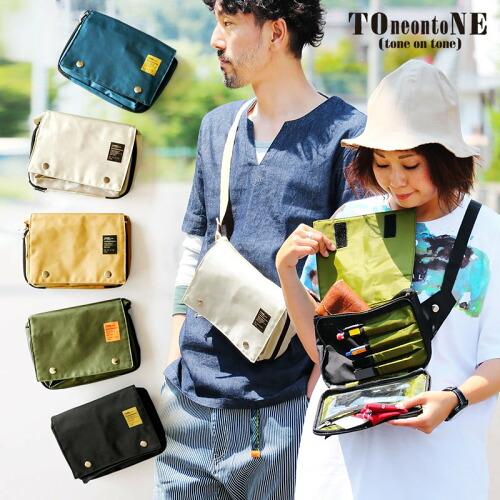 (トーン) TOneontoNE ボディバッグ ショルダーバッグ 財布 ミニ コンパクト 軽量 40代 50代