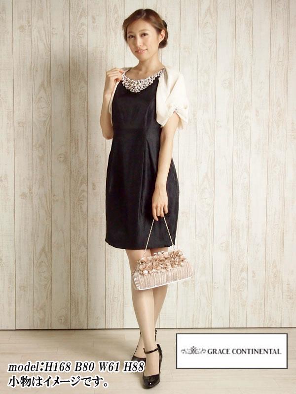 1cff99e07dda3 ... ドレス 単品レンタル シャイニーツイルワンピース ブラック・11号 . gc063