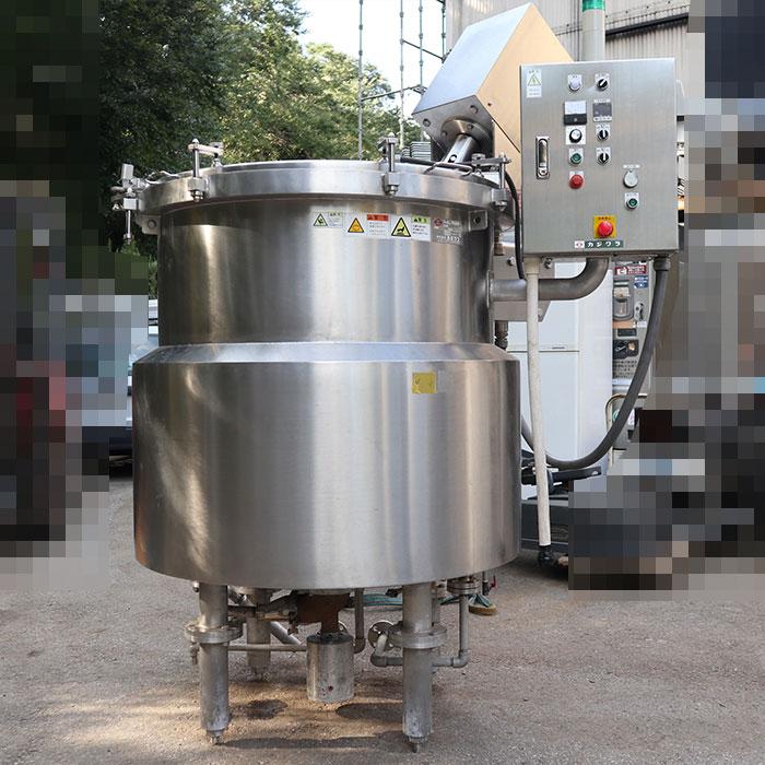 【送料無料】 クッキングミキサー OAM-6 カジワラ 2008年 蒸気加熱 撹拌 中古 お客様荷下ろし 【見学 千葉】
