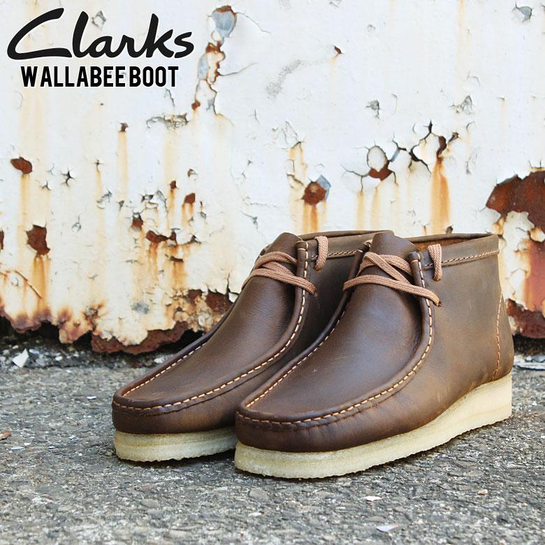 clarks クラークス WALLABEE BOOT BEES WAX LE ワラビーブーツ ブラウン