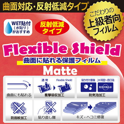 Flexible Shield Matte【反射低減】