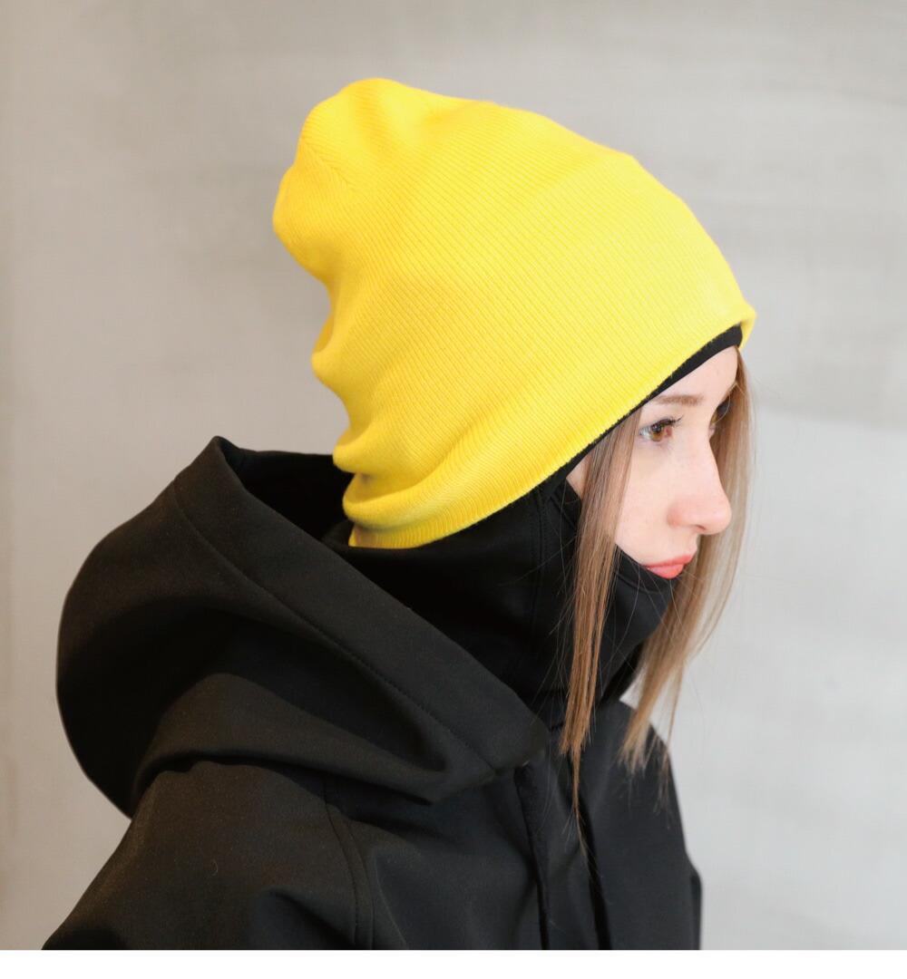 スノーボードニット帽子、ビーニーサイズ詳細