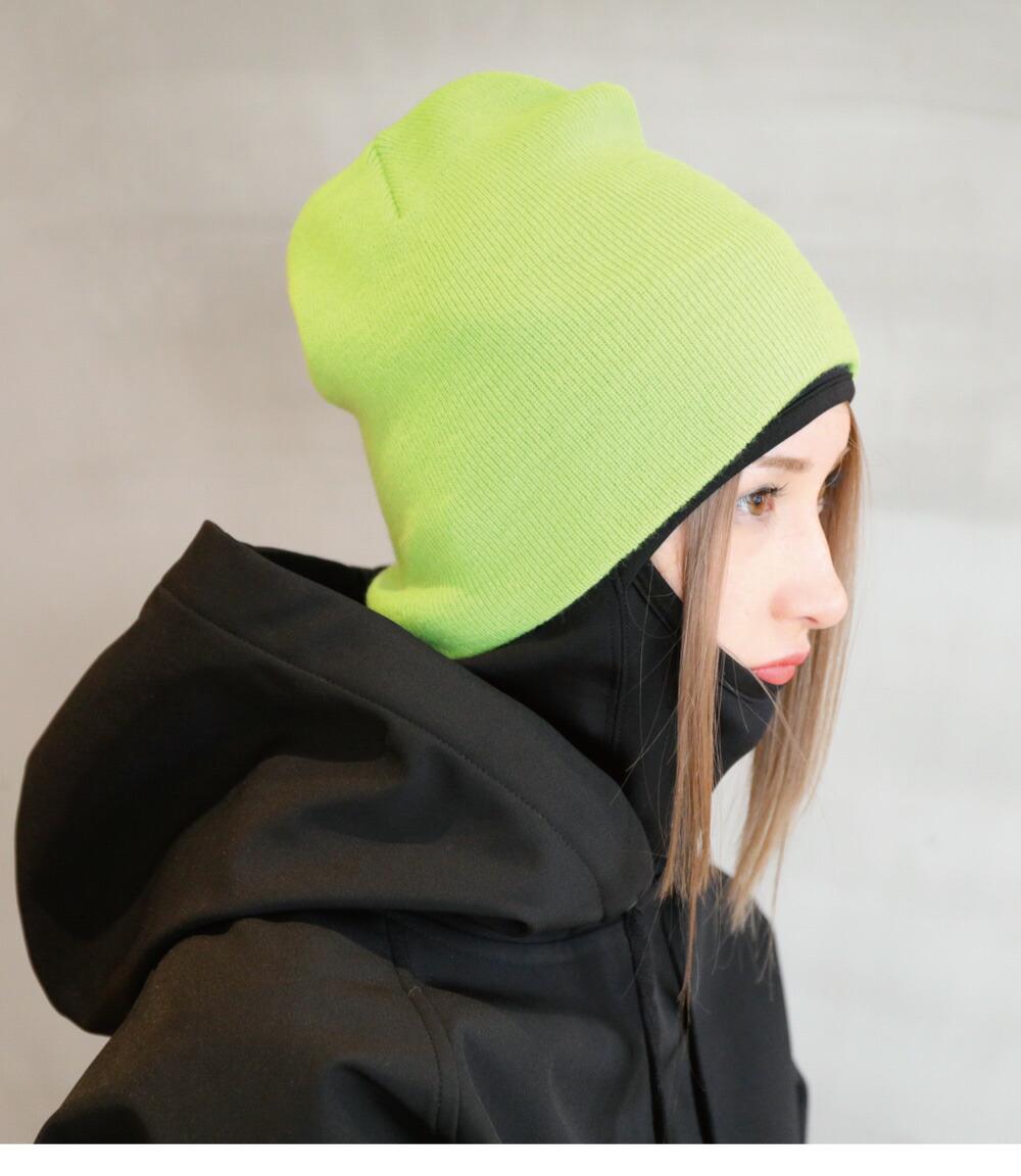 スノボニット帽子、ビーニーカラー詳細