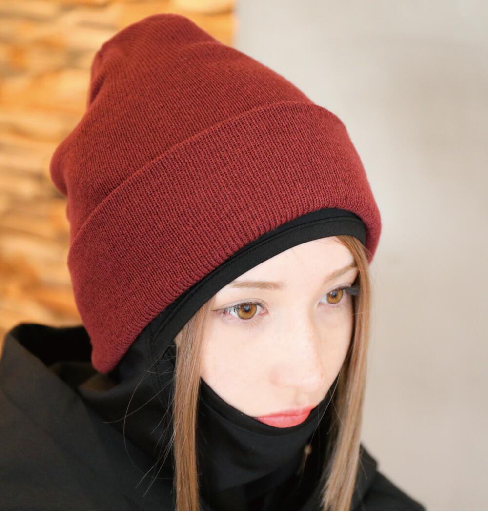 スノボスノーボードニット帽子、ビーニーイメージ