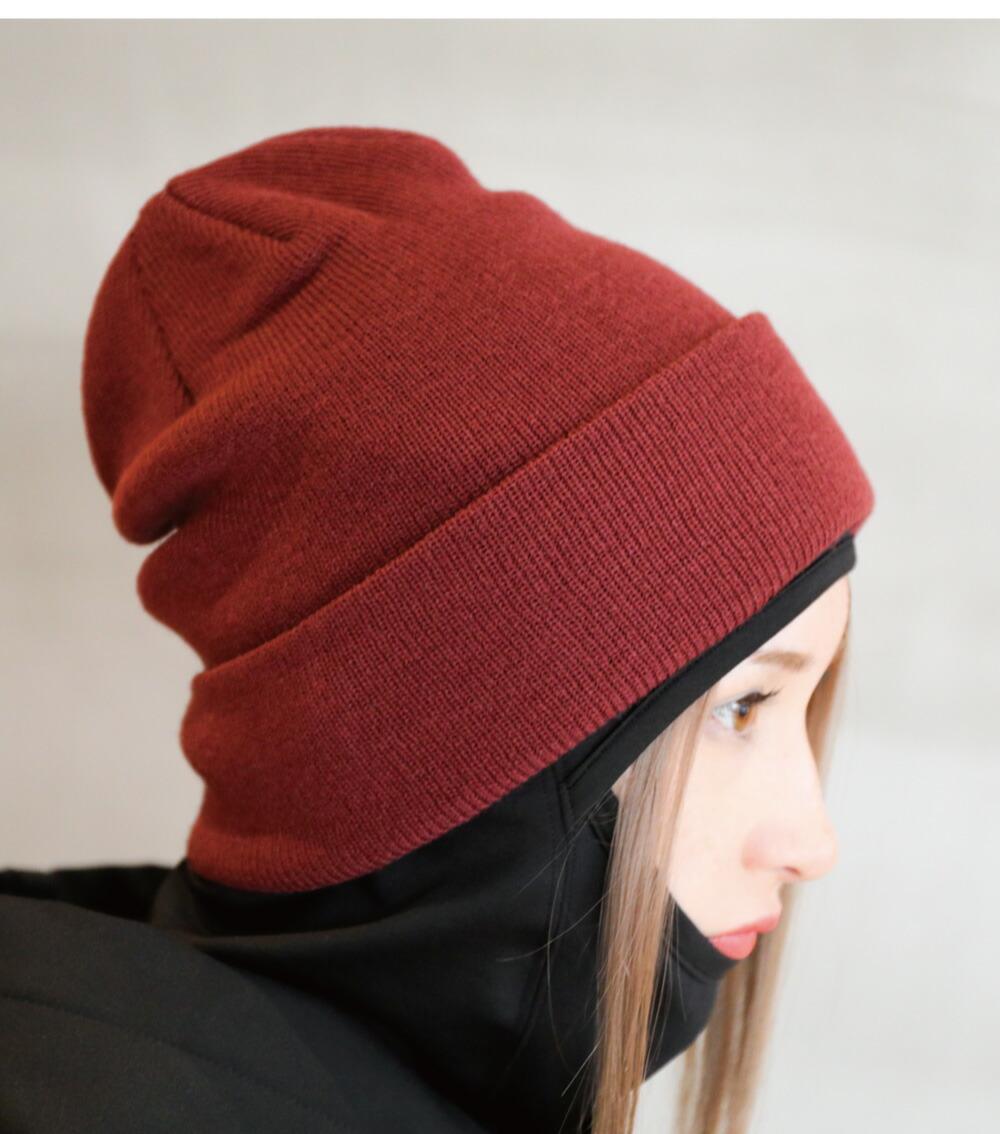 スノボニット帽子、ビーニーサイズ詳細