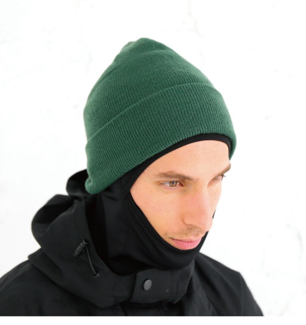スノーボードニット帽子、ビーニーカラー詳細