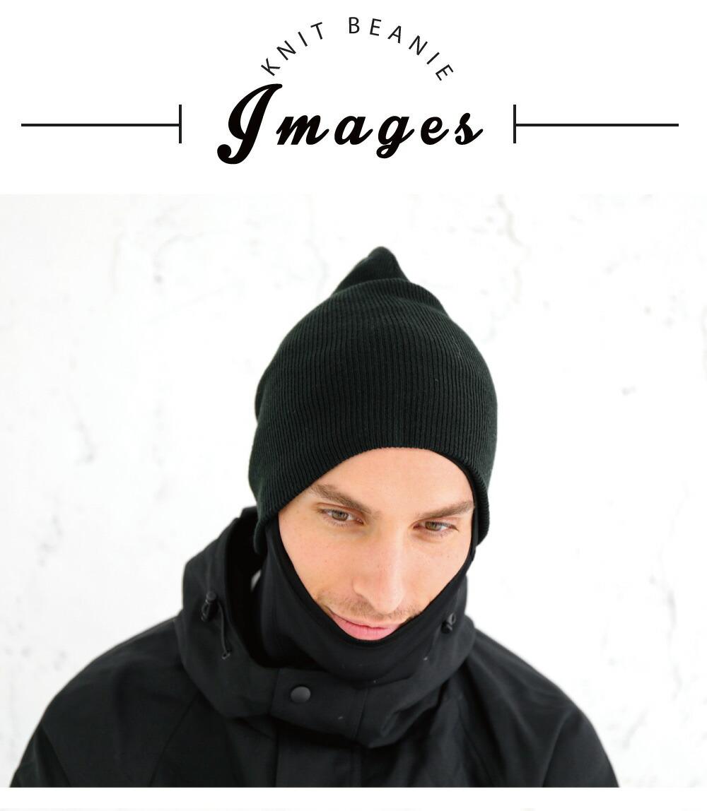スノーボードニット帽子、ビーニー、詳細ディテール