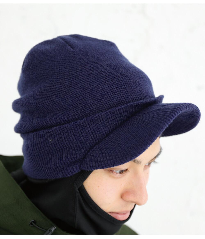 スノボツバ付きニット帽カラー詳細