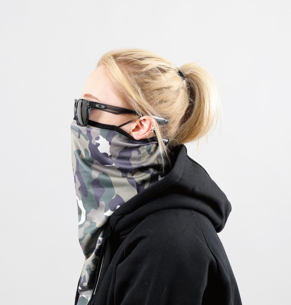 スノーボードフェイスマスク、詳細ディテール