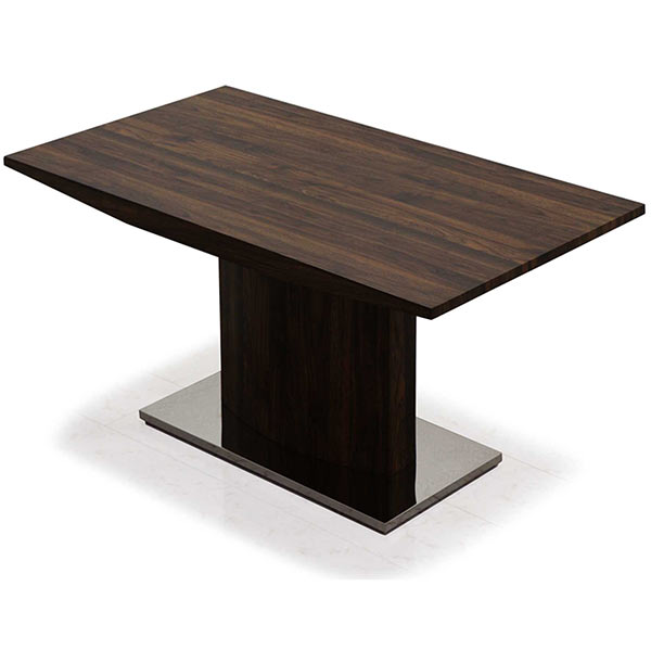 スタイリッシュなデザインの幅150cmダイニングテーブル