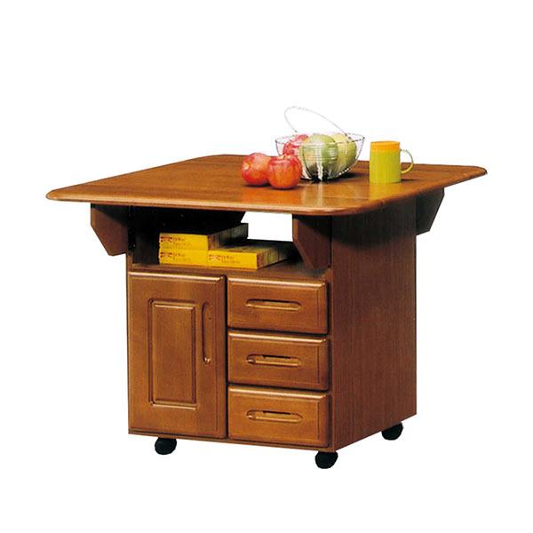 キャスター付き 国産 キッチンワゴン カウンター テーブル