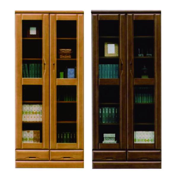 本棚 書棚 幅80cm 無垢材 高さ185cm 国産 日本製
