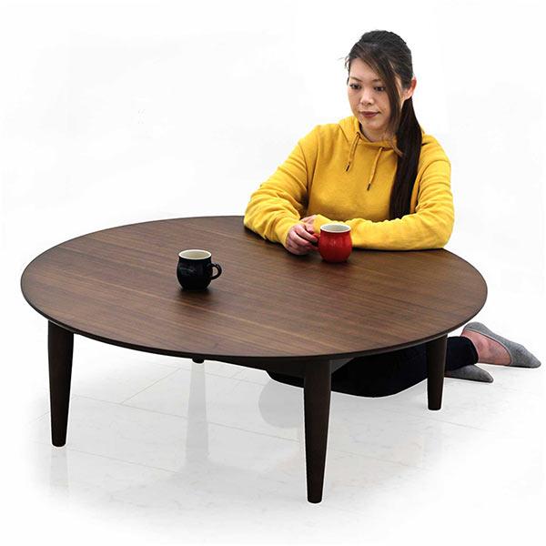 丸テーブル 幅110cm 円形 ローテーブル センターテーブル