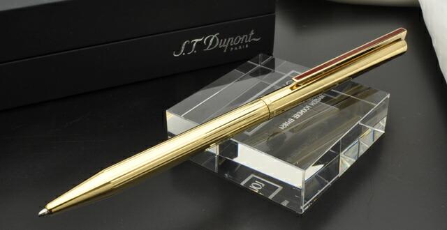 デュポン ボールペン&ペンシル クラシックペン ヴィンテージエディション ゴールド 純正赤漆クリップ
