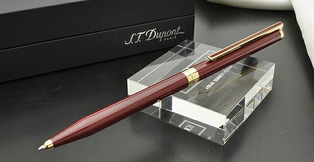 デュポン ボールペン&ペンシル クラシックペン ヴィンテージエディション 純正赤漆&ゴールド