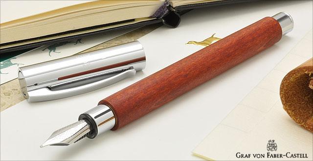 ファーバーカステル 万年筆 デザインシリーズ アンビション 148181 ペアウッド