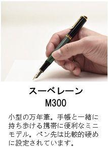 スーベレーン M300 緑縞
