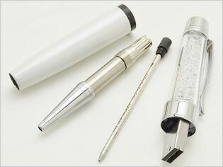 スワロフスキー ボールペン Crystalline USB