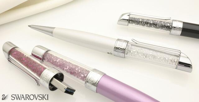 スワロフスキー ボールペン Crystalline USB 16GB