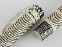 ビスコンティ 万年筆 限定品 独立宣言1776 V29052 シルバー