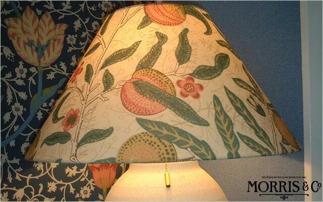ウィリアム・モリス 照明器具 陶器製スタンド