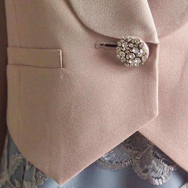 ラメサテンショートジャケット