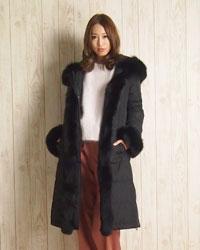 FOXトリミングコート