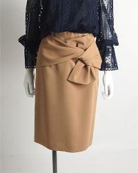 リボンタイトスカート