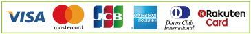 クレジットカード(VISA、Master、JCB、AMEX、NICOS)