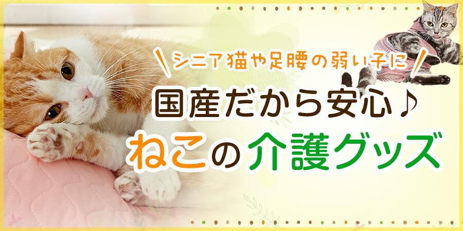 猫用介護グッズ特集