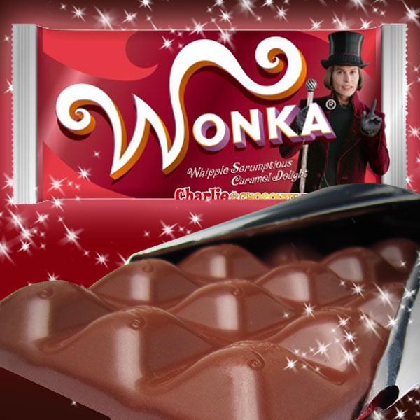 WONKA ウォンカチョコレート キャラメル チャーリーとチョコレート工場 プレゼント 送料込み|ANITTO FRIENDS
