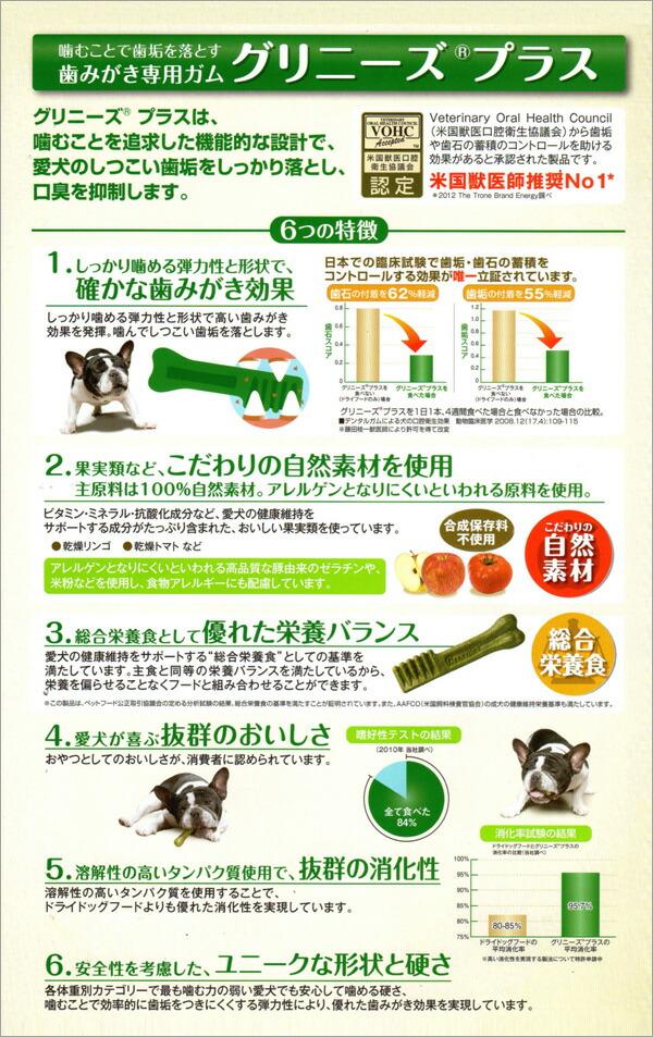 グリニーズプラス カロリーケア 小型犬用(体重7~11kg)18本入