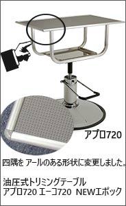 アプロ720 油圧式トリミングテーブル