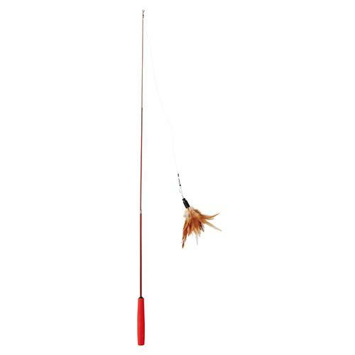 アドメイトAddMateCatin theboxキャットインザボックス釣竿じゃらしは約90cmまで伸ばせる釣竿タイプ