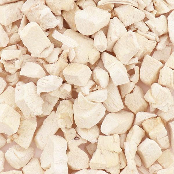 ペティオ犬用おやつ素材そのまままササミのフリーズドライの原材料