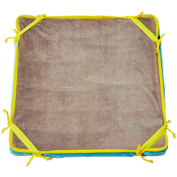 ペティオ寝返りが打ちやすい高反発ファイバーベッド洗える防水マット付ペット用小の原材料