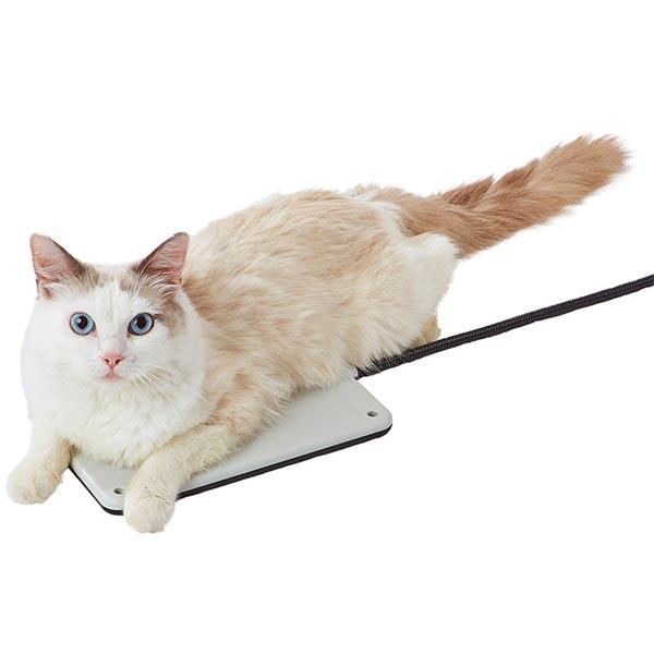 アドメイトAdd.Mateペット用リバーシブル電気ヒーターハードはワンちゃんネコちゃんウサギちゃんなどの小動物の使用OK
