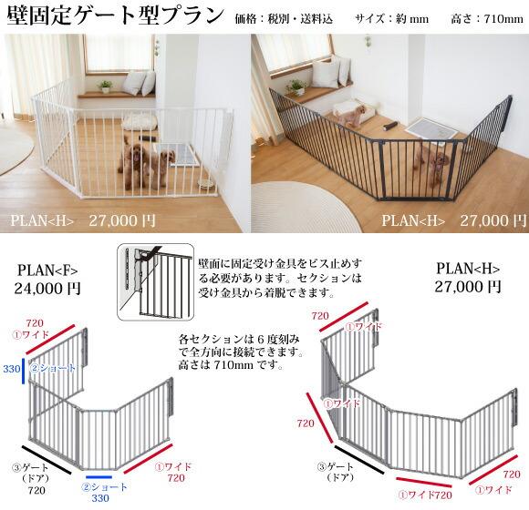壁固定ゲート型プラン