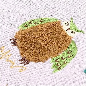 モコモコパイルのフクロウがポイント