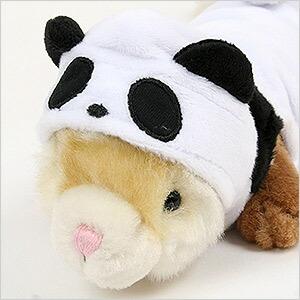 パンダに大変身