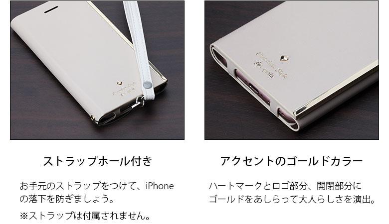 Premium Style iPhone 7/6s/6用 オールPUレザーフリップカバー for girls