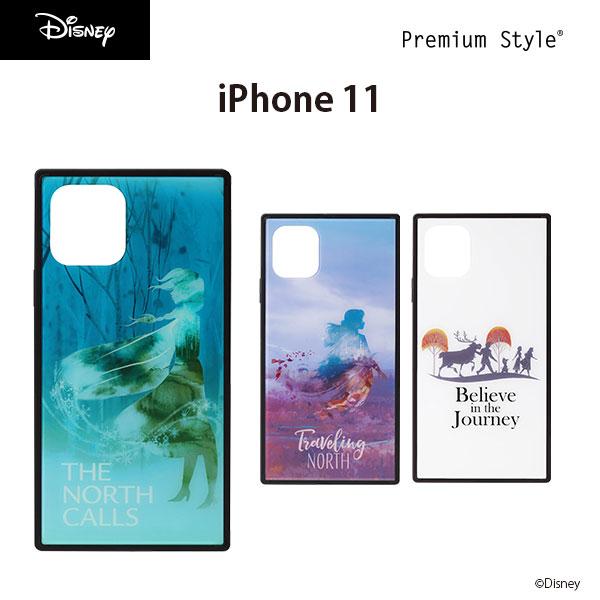 iPhone 11用 ガラスハイブリッドケース